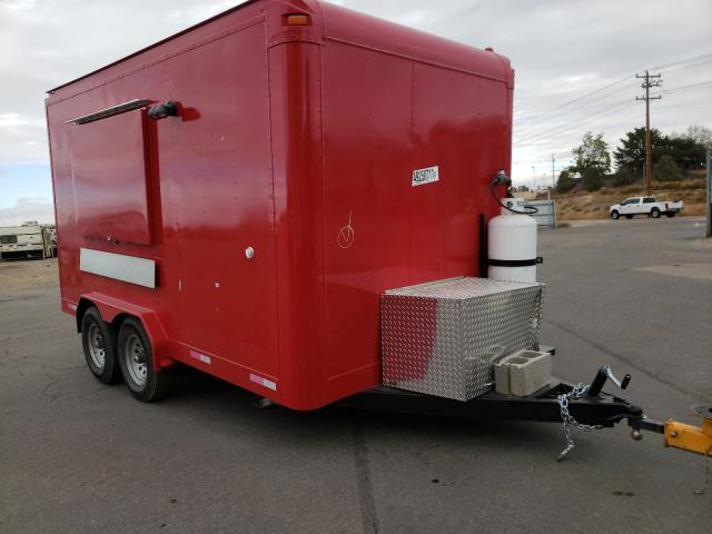 Salvage cars for sale from Copart Nampa, ID: 2021 Trailers Trailer
