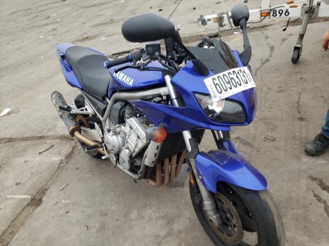 Yamaha Vehiculos salvage en venta: 2001 Yamaha FZS10