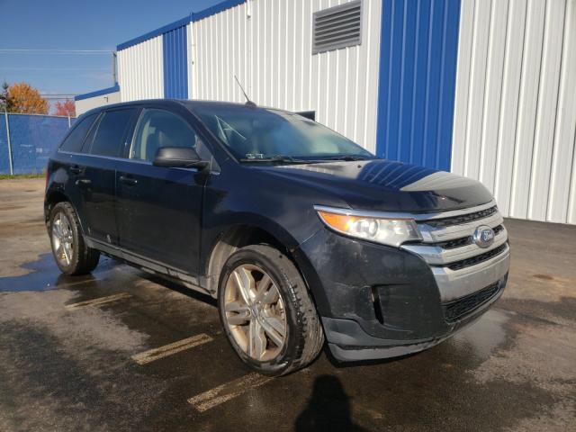 Salvage cars for sale at Moncton, NB auction: 2013 Ford Edge