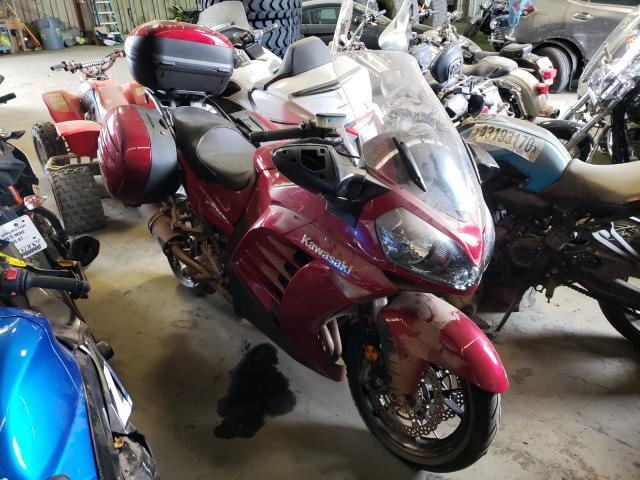 Kawasaki ZG1400 C salvage cars for sale: 2014 Kawasaki ZG1400 C