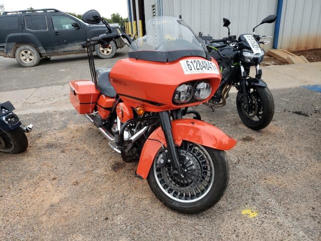 Salvage motorcycles for sale at Oklahoma City, OK auction: 2009 Harley-Davidson Fltr