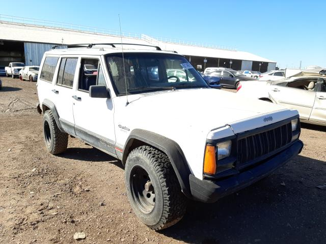Salvage cars for sale from Copart Phoenix, AZ: 1996 Jeep Cherokee S