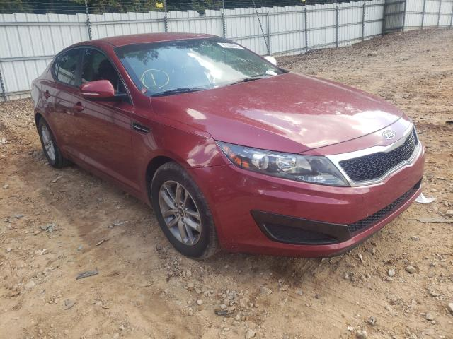 Salvage cars for sale from Copart Austell, GA: 2011 KIA Optima LX