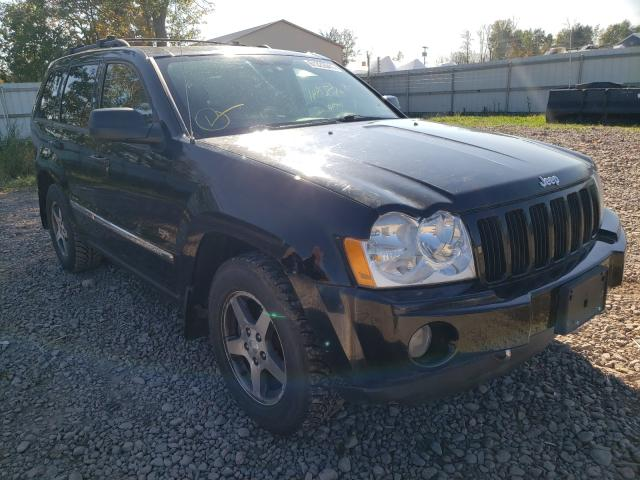 Salvage cars for sale from Copart Central Square, NY: 2006 Jeep Grand Cherokee