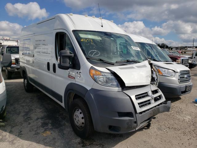 Salvage cars for sale from Copart Jacksonville, FL: 2014 Dodge RAM Promaster