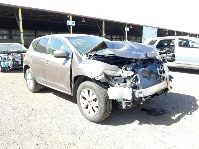 Salvage cars for sale from Copart Phoenix, AZ: 2012 Nissan Murano S