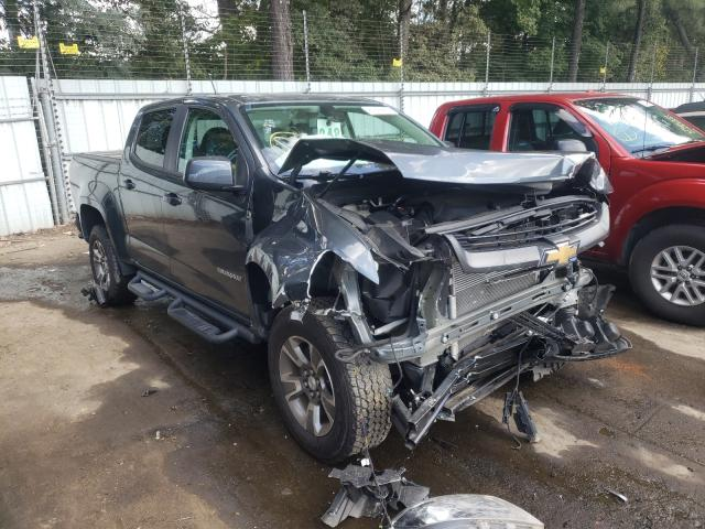 Salvage cars for sale from Copart Austell, GA: 2017 Chevrolet Colorado Z
