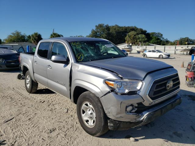 Salvage cars for sale from Copart Punta Gorda, FL: 2020 Toyota Tacoma DOU