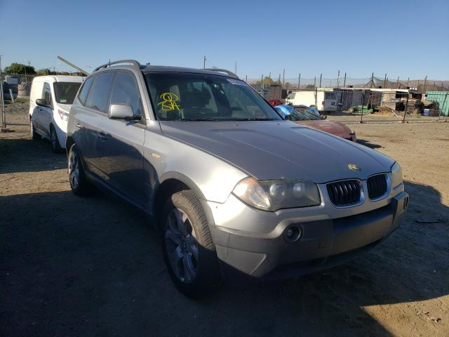 Salvage cars for sale from Copart San Martin, CA: 2004 BMW X3 3.0I