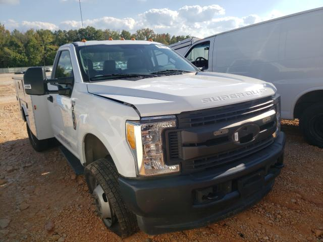 Salvage cars for sale from Copart China Grove, NC: 2017 Ford F350 Super