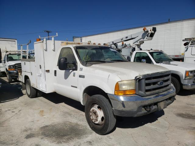 Salvage cars for sale from Copart Sun Valley, CA: 2000 Ford F450 Super