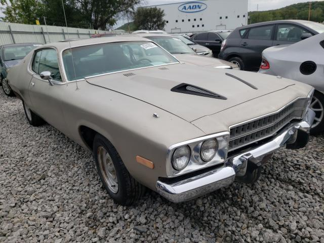Salvage cars for sale from Copart Tulsa, OK: 1974 Plymouth Satellite