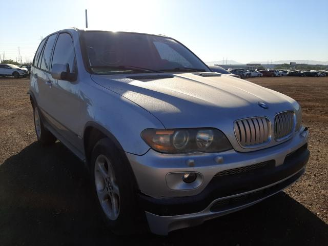 Salvage cars for sale from Copart Phoenix, AZ: 2006 BMW X5 3.0I