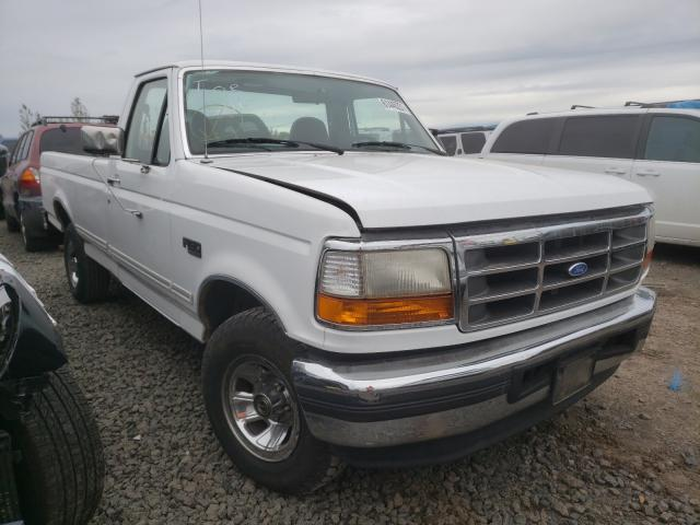 Salvage trucks for sale at Eugene, OR auction: 1996 Ford F150