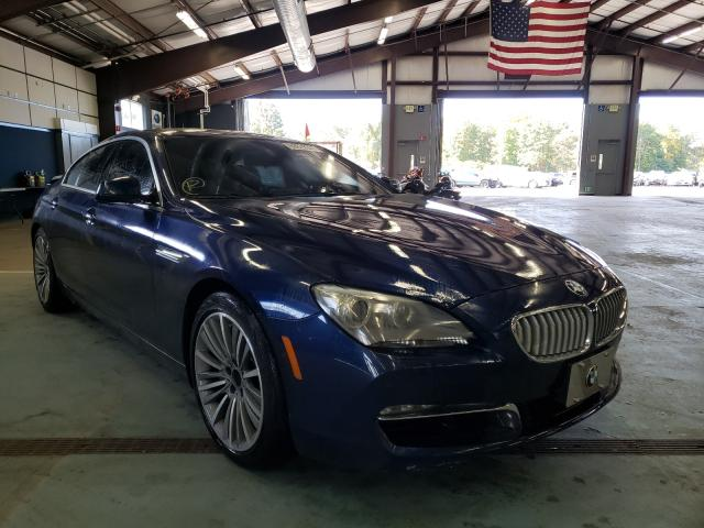 Salvage cars for sale from Copart East Granby, CT: 2014 BMW 650 XI GRA
