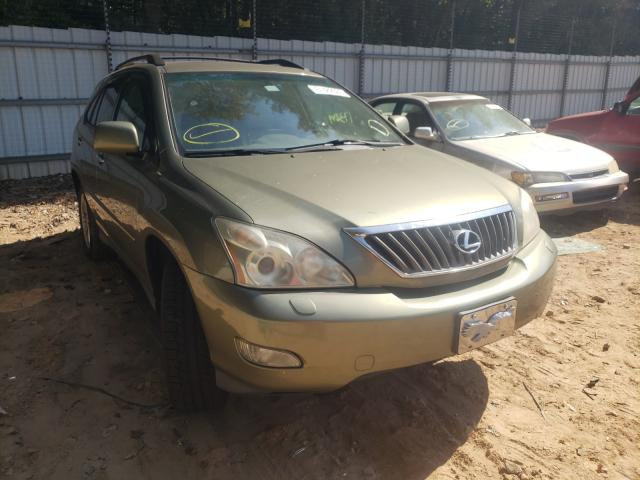 Salvage cars for sale from Copart Austell, GA: 2008 Lexus RX 350