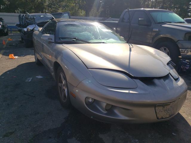 Pontiac Firebird salvage cars for sale: 2000 Pontiac Firebird