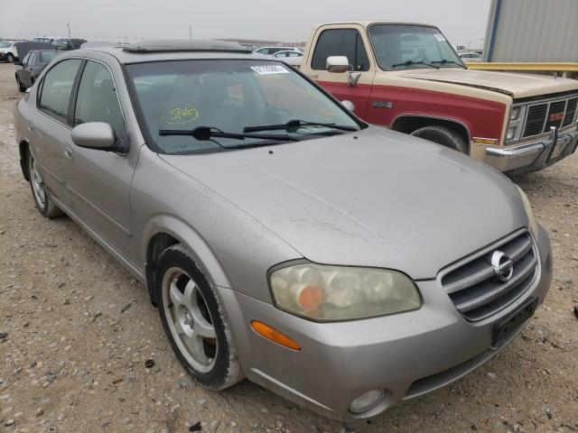 Salvage cars for sale from Copart Haslet, TX: 2003 Nissan Maxima GLE
