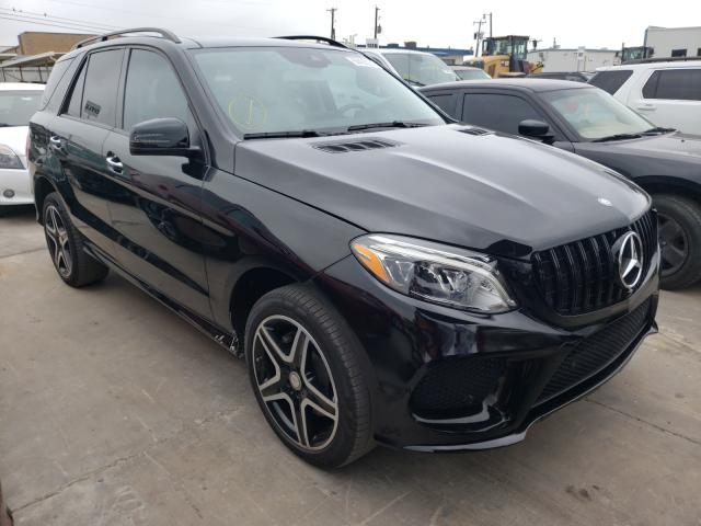 Upcoming salvage cars for sale at auction: 2017 Mercedes-Benz GLE 350