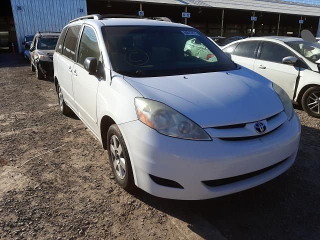 Salvage cars for sale from Copart Phoenix, AZ: 2009 Toyota Sienna CE