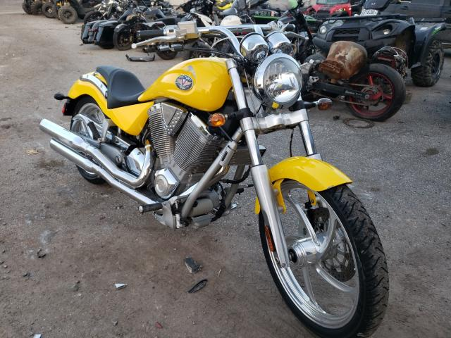 Salvage motorcycles for sale at York Haven, PA auction: 2003 Victory Vegas