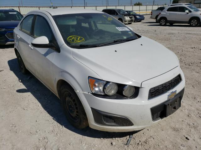 Salvage cars for sale from Copart Haslet, TX: 2015 Chevrolet Sonic LS