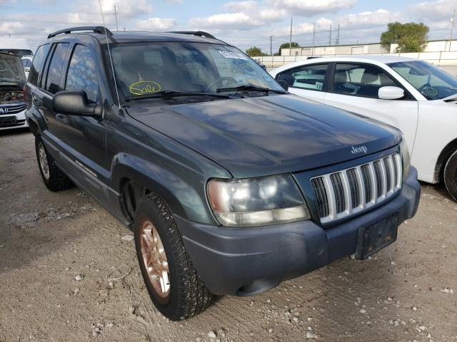 Salvage cars for sale from Copart Haslet, TX: 2004 Jeep Grand Cherokee