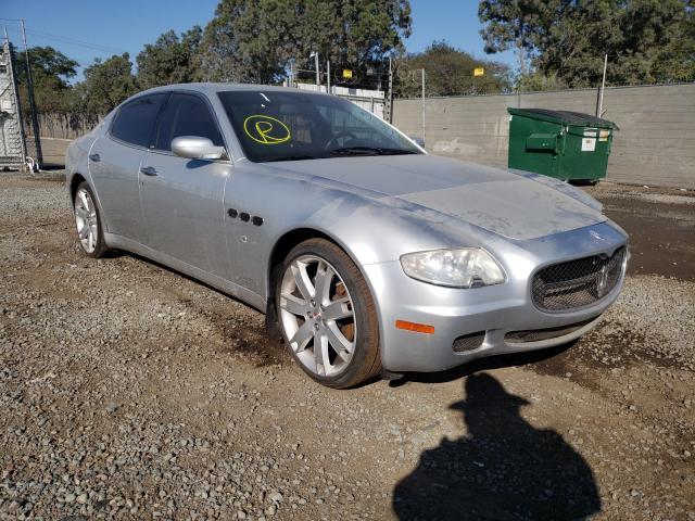 Maserati salvage cars for sale: 2007 Maserati Quattropor