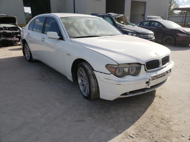 BMW Vehiculos salvage en venta: 2004 BMW 745 LI