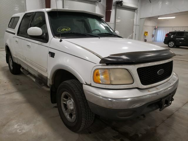 Salvage cars for sale from Copart Avon, MN: 2001 Ford F150 Super