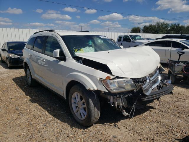 Salvage cars for sale from Copart Mercedes, TX: 2013 Dodge Journey SX