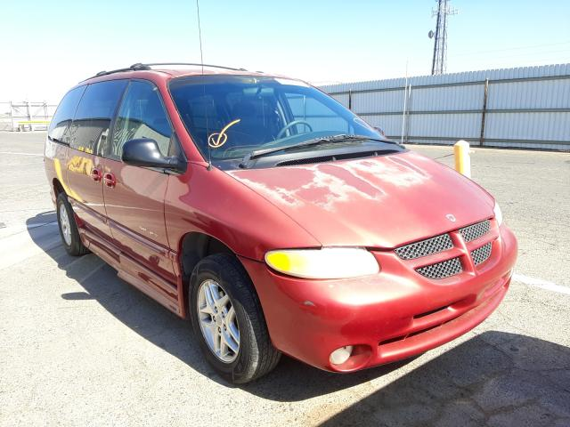 Dodge salvage cars for sale: 2000 Dodge Grand Caravan