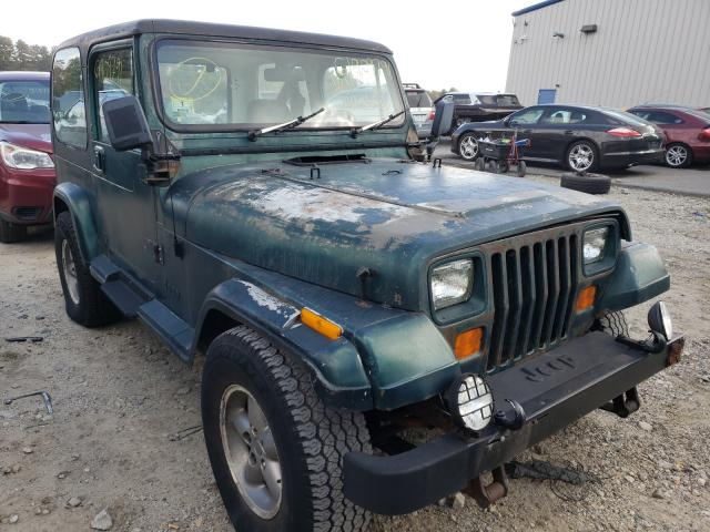 Jeep Wrangler salvage cars for sale: 1989 Jeep Wrangler