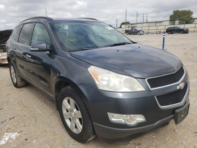 Salvage cars for sale from Copart Haslet, TX: 2009 Chevrolet Traverse L