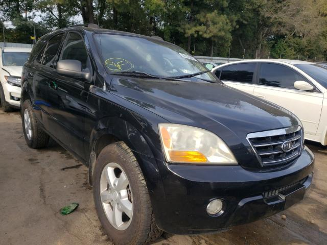 Salvage cars for sale from Copart Austell, GA: 2008 KIA Sorento EX