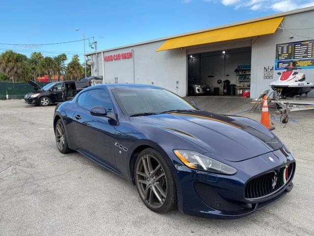 Maserati salvage cars for sale: 2015 Maserati Granturismo