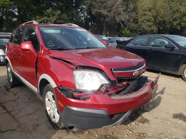 Salvage cars for sale from Copart Austell, GA: 2014 Chevrolet Captiva LS