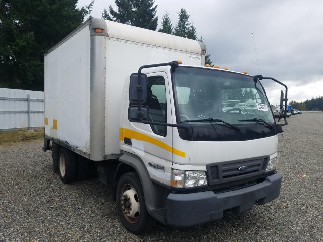 Salvage trucks for sale at Graham, WA auction: 2007 Ford Low Cab FO