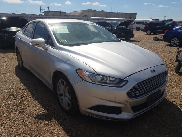 Salvage cars for sale from Copart Mercedes, TX: 2016 Ford Fusion SE