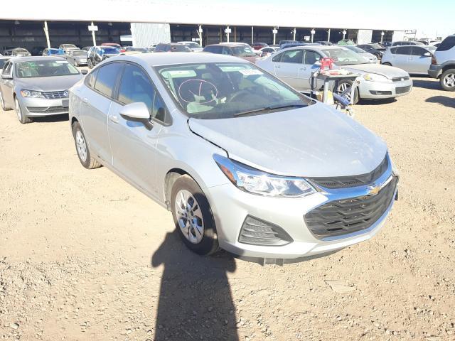 Salvage cars for sale from Copart Phoenix, AZ: 2019 Chevrolet Cruze LS