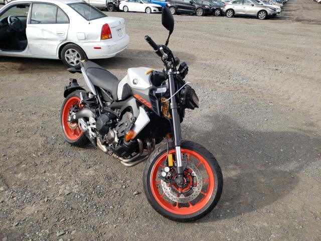 Salvage motorcycles for sale at Marlboro, NY auction: 2020 Yamaha MT09