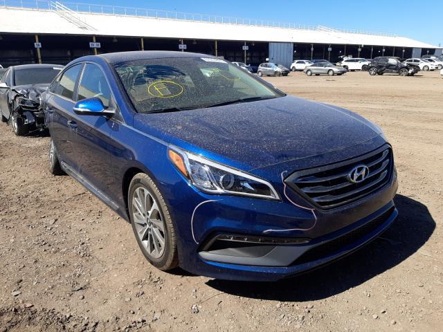 Salvage cars for sale from Copart Phoenix, AZ: 2015 Hyundai Sonata Sport