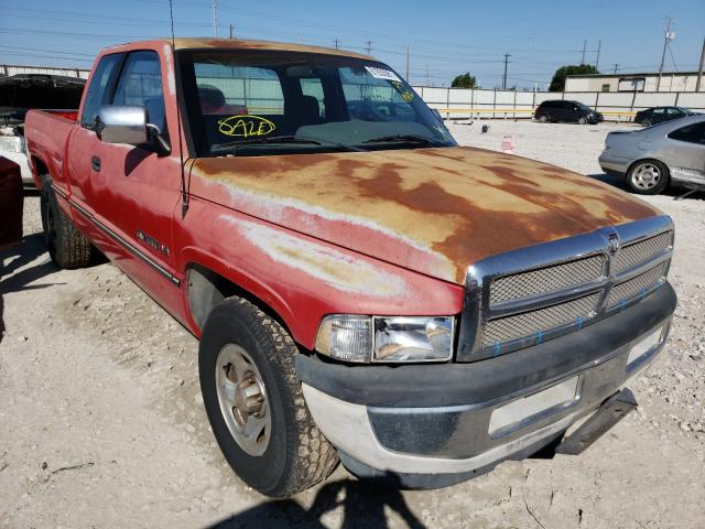 Salvage cars for sale from Copart Haslet, TX: 1996 Dodge RAM 1500