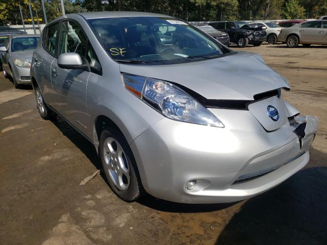 Salvage cars for sale from Copart Austell, GA: 2014 Nissan Leaf S