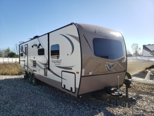 Forest River Flagstaff salvage cars for sale: 2017 Forest River Flagstaff