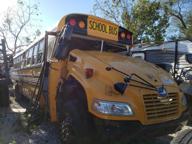 Blue Bird salvage cars for sale: 2016 Blue Bird School Bus
