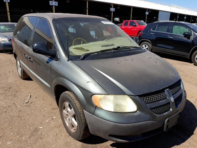 Salvage cars for sale from Copart Phoenix, AZ: 2003 Dodge Caravan SE