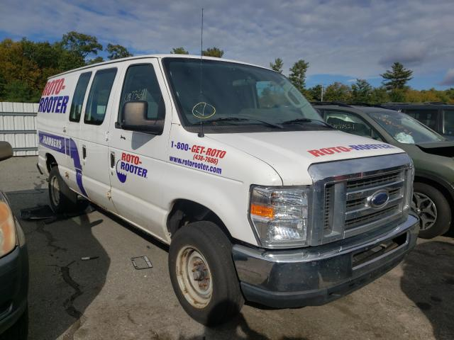 Salvage cars for sale from Copart Exeter, RI: 2012 Ford Econoline