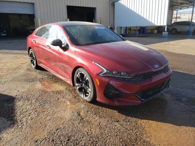 Salvage cars for sale from Copart Phoenix, AZ: 2021 KIA K5 GT Line