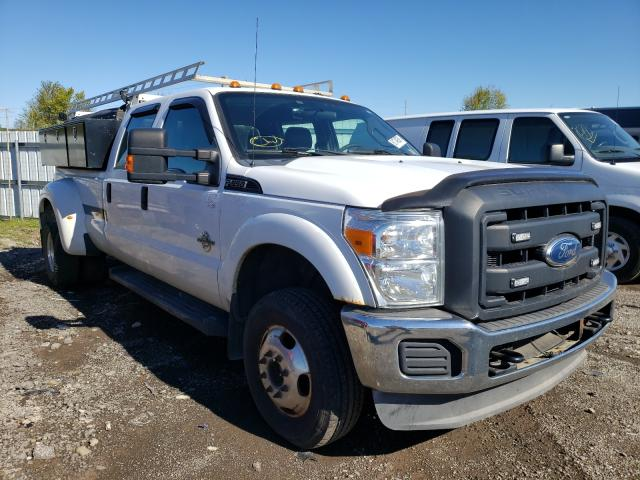 Salvage cars for sale from Copart Columbia Station, OH: 2012 Ford F350 Super
